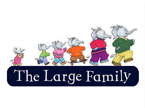stickylogo the large family
